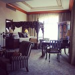 King suite at the palace. BEAUTIFUL