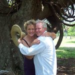 Roy and Judi Croxton on Cumberland Island
