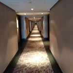 Longest hotel hallway I've ever seen!