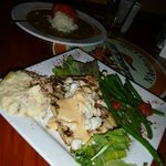 Dinner Special: Mahi Villand (topped with lump crab meat)