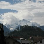 View of the Jungfrau from the balcony