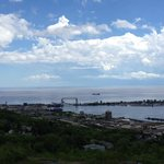 Looking Down on Duluth and the Lake