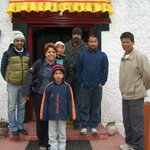 Team Ladakh Sarai with Lotus