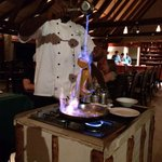 Crepe Suzette made at your table