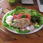Chef Salad with grilled chicken breast