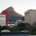 Lions head Mtn from top of the hotel.
