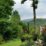 View from B&B of the Smoky Mountains