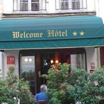 The Welcome Hotel-- a classic Paris small hotel