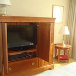 Bedroom LCD flat TV set (another in living room)