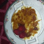Carolyn ' s ginger pineapple creme brulee