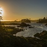 Wild Pacific Trail sunset