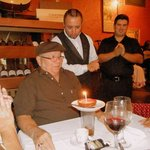 Dad celebrated 75 years of life at La Taberna and it couldn't have been a better experience.