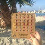 had fun playing bingo on the beach with the locals. Mayor was the caller.