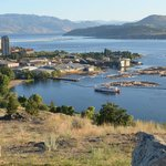 View of Kelowna, Bridge, and Lake Okanagan