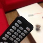 Damaged TV Remote