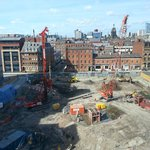 View over Building site :-(