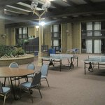 entertainment area, Sanctuary Inn & Conference Center, Alpena, MI, June 2014