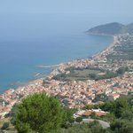 View from castellabate down  the coast