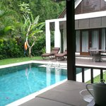 From the gazebo - Pool and villa