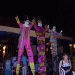 Moko Jumbies from Pirates Buffet