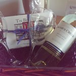 Wine & Chocolate package! delicious truffles