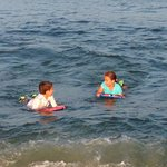Point pleasant beach-  My Twins Enjoying!