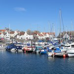 Anstruther Harbour on the 'Fife Coast'
