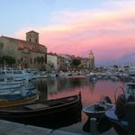 Sunset at La Ciotat