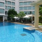 Park Hotel Clarke Quay Pool (Our haven from the heat)