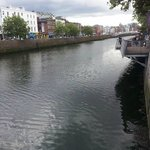 The River Liffey ran directly outside the Hotel