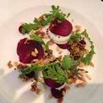 Goats Cheese & Beetroot starter