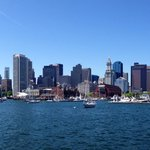 Boston Skyline From Water Taxi