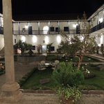 Courtyard of the convent at night
