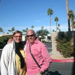 at Palm Springs CA