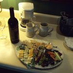 Cheese Platter in Room