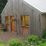 showing the bothy, housing kitchen, toilets and showers.