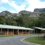 Foto di Halls Gap Log Cabins
