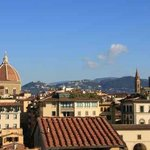 view from the terrace, towards Duomo and Fiesole