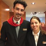 Bertrand and Beatriz- Front Desk