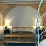 Room in a trullo