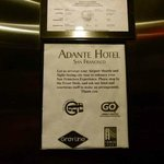 Photo of Adante Hotel
