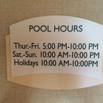 Pool Closed for Private Lessons