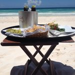 Lunch on the beach everyday! :)