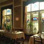 Lovely Jugend/Art Deco breakfast room