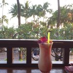Beachside drink at Lulu's