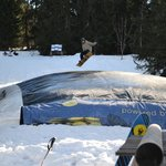 Air Bag Right Outside Saanewald Lodge