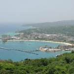 View of Ocho Rios from the top