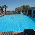 Balux pool area - no one under 16 allowed