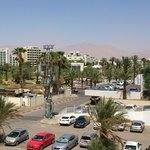 View from room: Streets, Jordan mountains