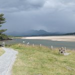 Coastal walk from Borth-y-Gest towards Black Rock Sands